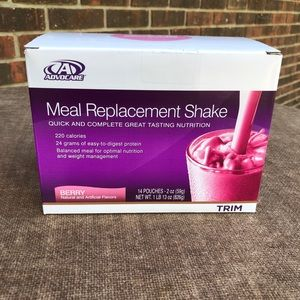 Berry Advocare Meal Replacement Shakes
